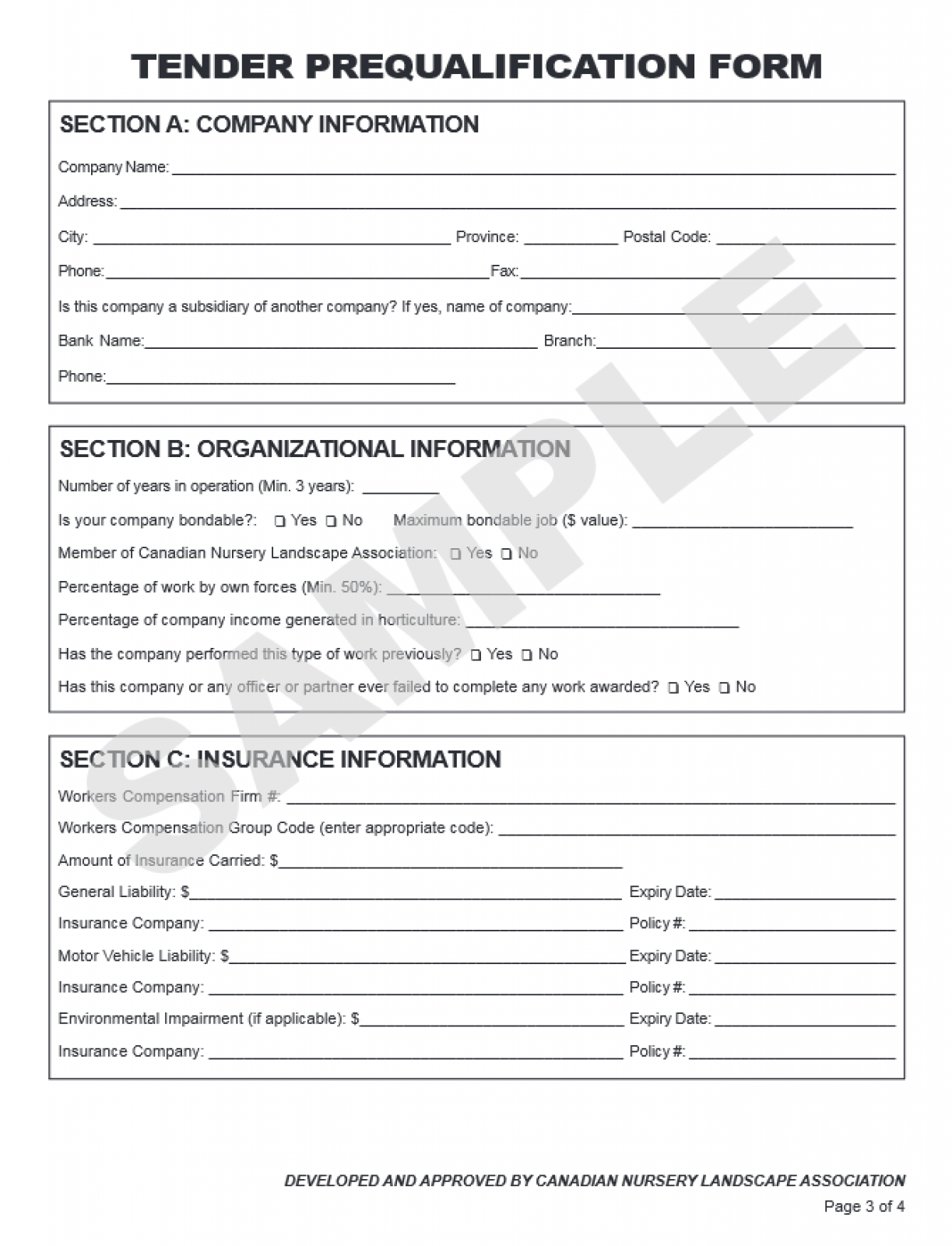 Free Legal Form: Construction Contract