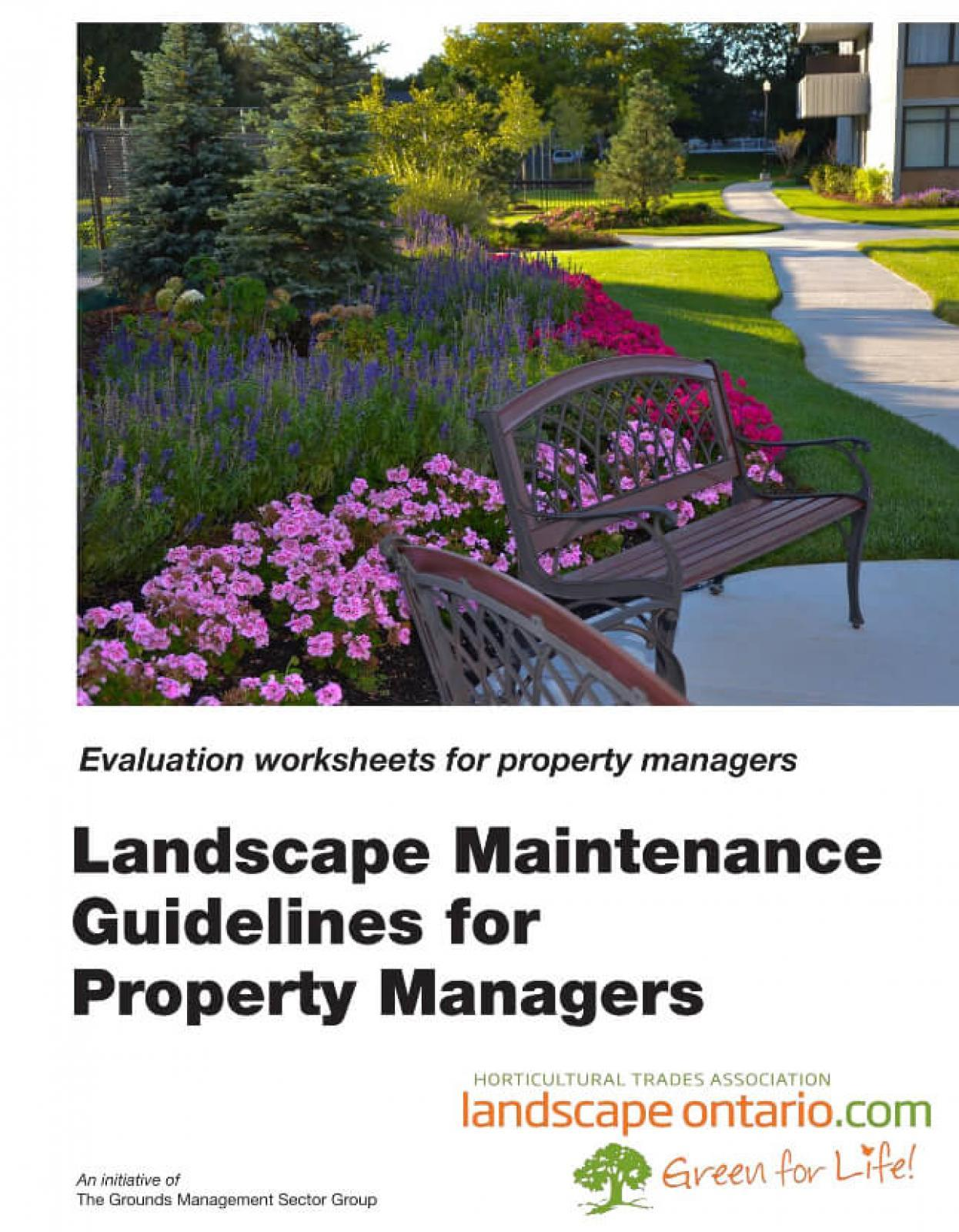 Grounds Management - Landscape Ontario