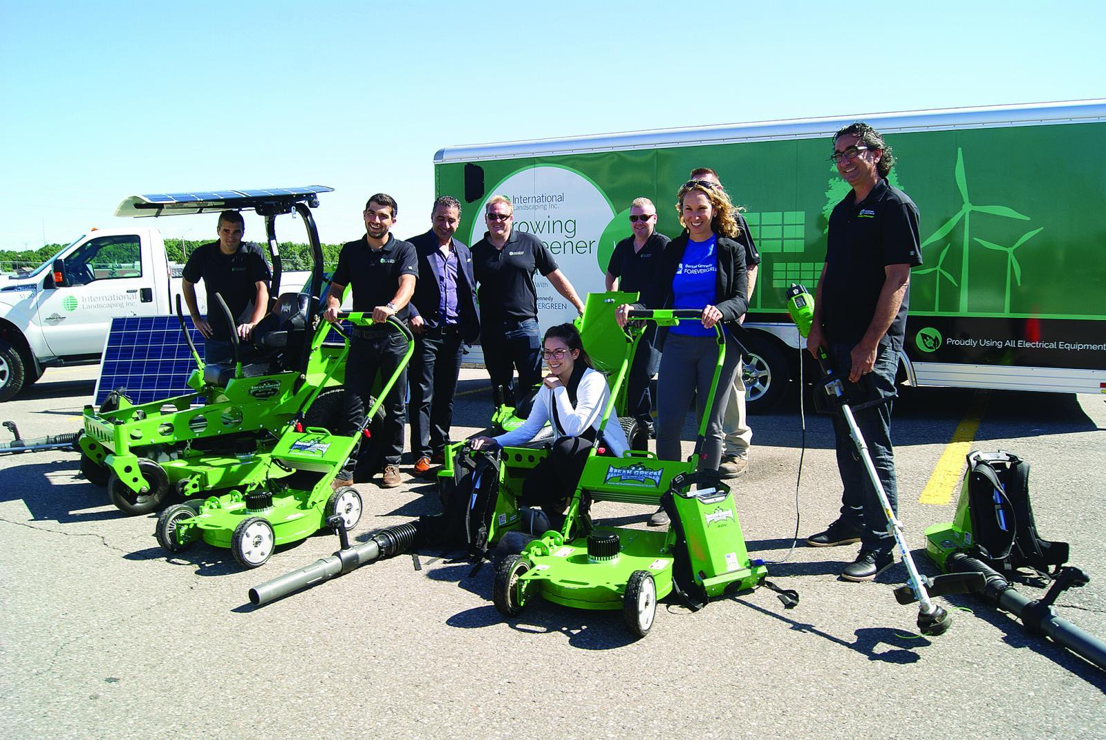 International Landscaping Launches Electric Maintenance