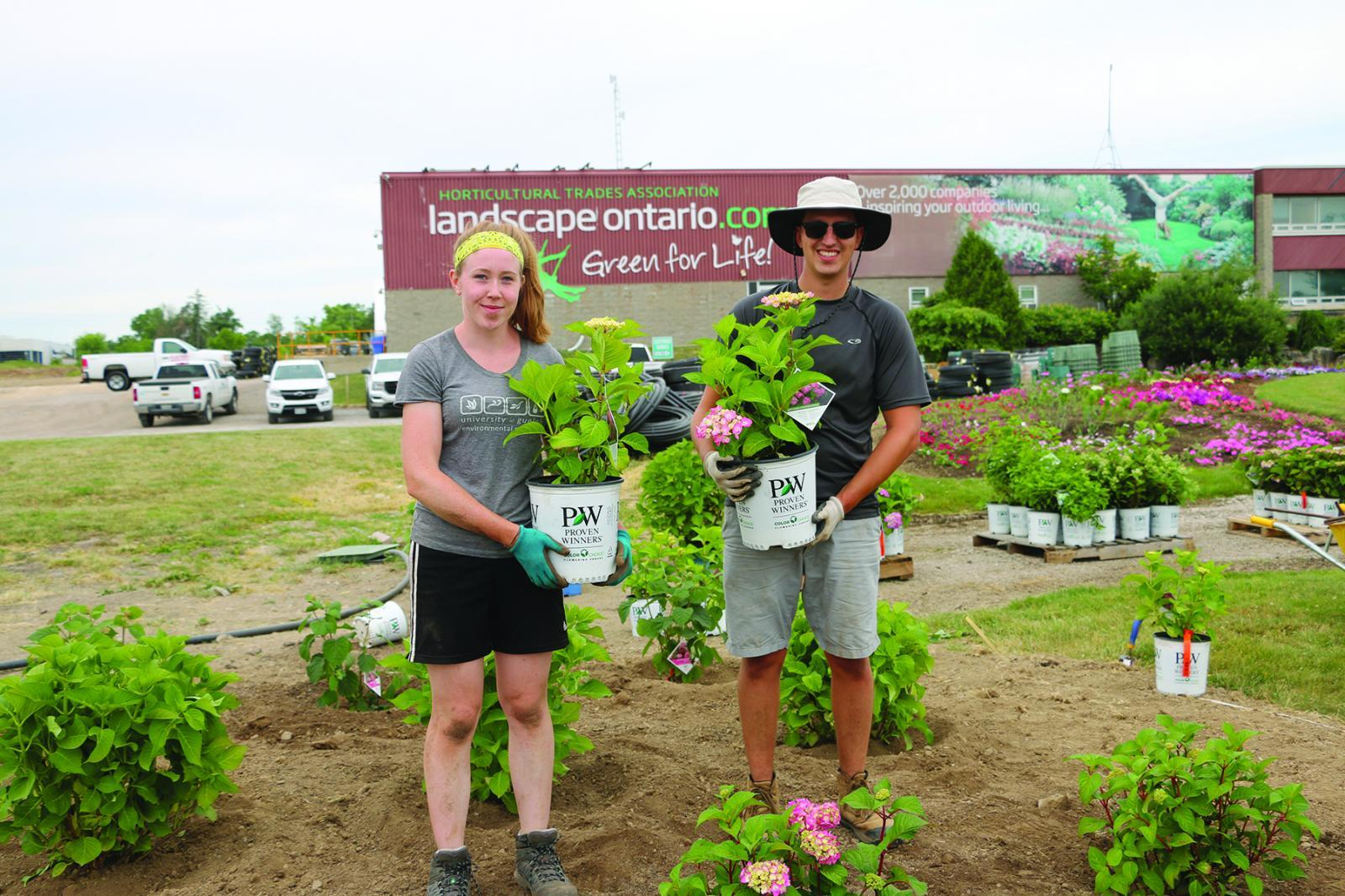 Trial garden site features new plants and expansion