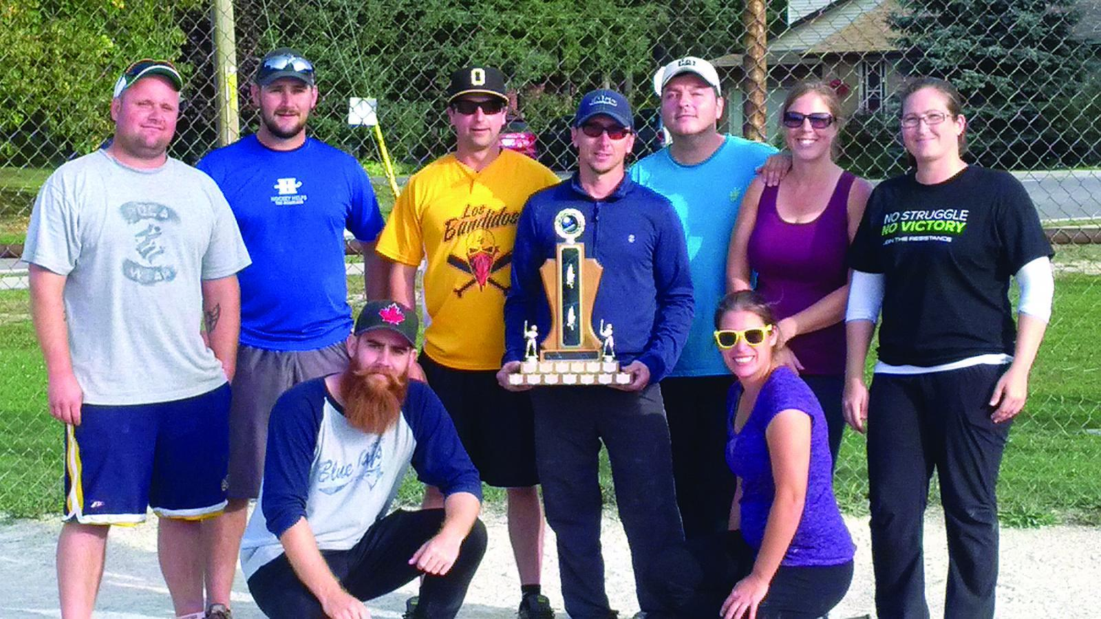 The winning team: Clintar Landscape Management, Kitchener.