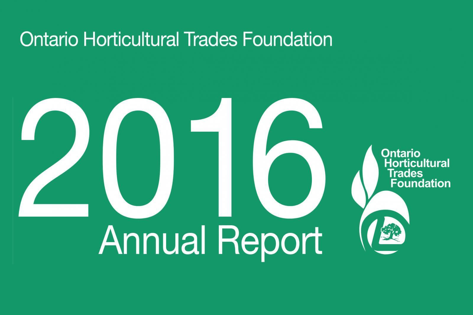 2016 Foundation Report