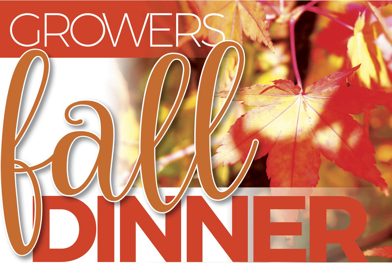 Growers Annual Fall Dinner
