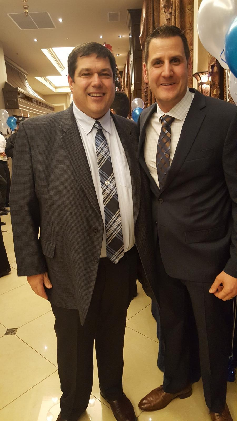 Owner Herman Ciardullo (left) with general manager Mark Poloniato.