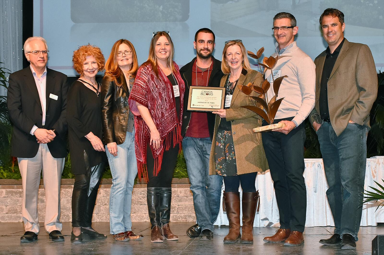 Canada Blooms recognizes feature garden builders