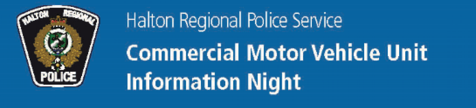 Commercial vehicle safety information night