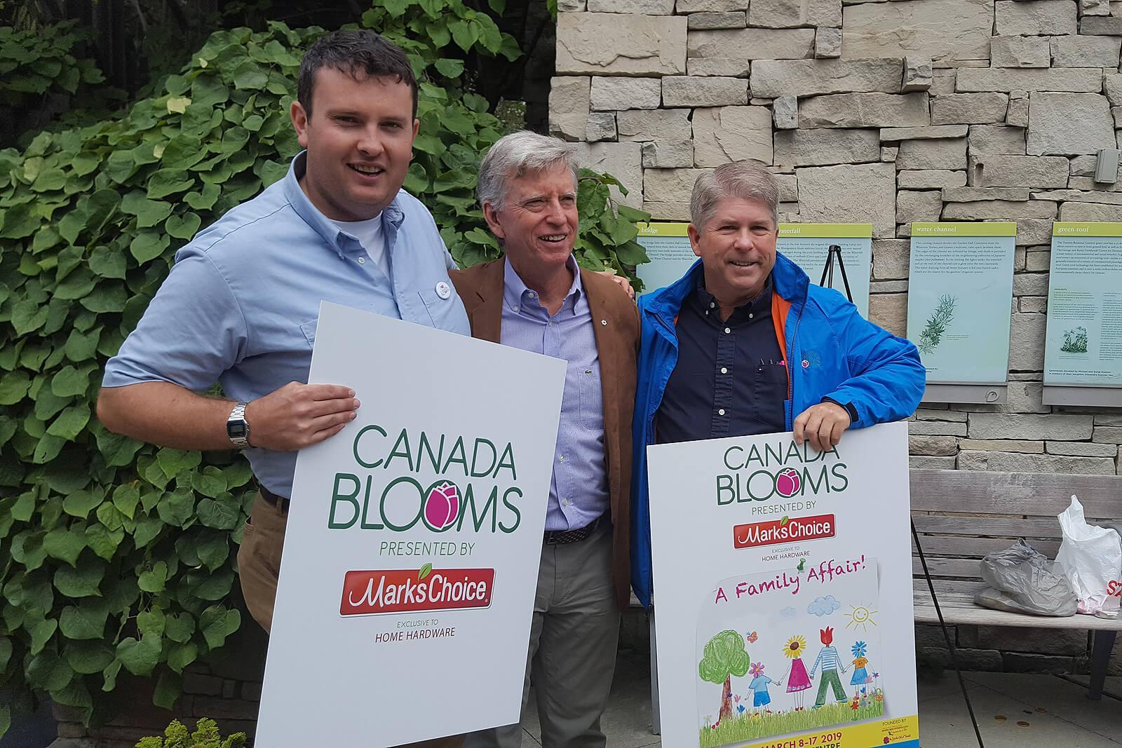 Mark's Choice becomes title sponsor of Canada Blooms press release