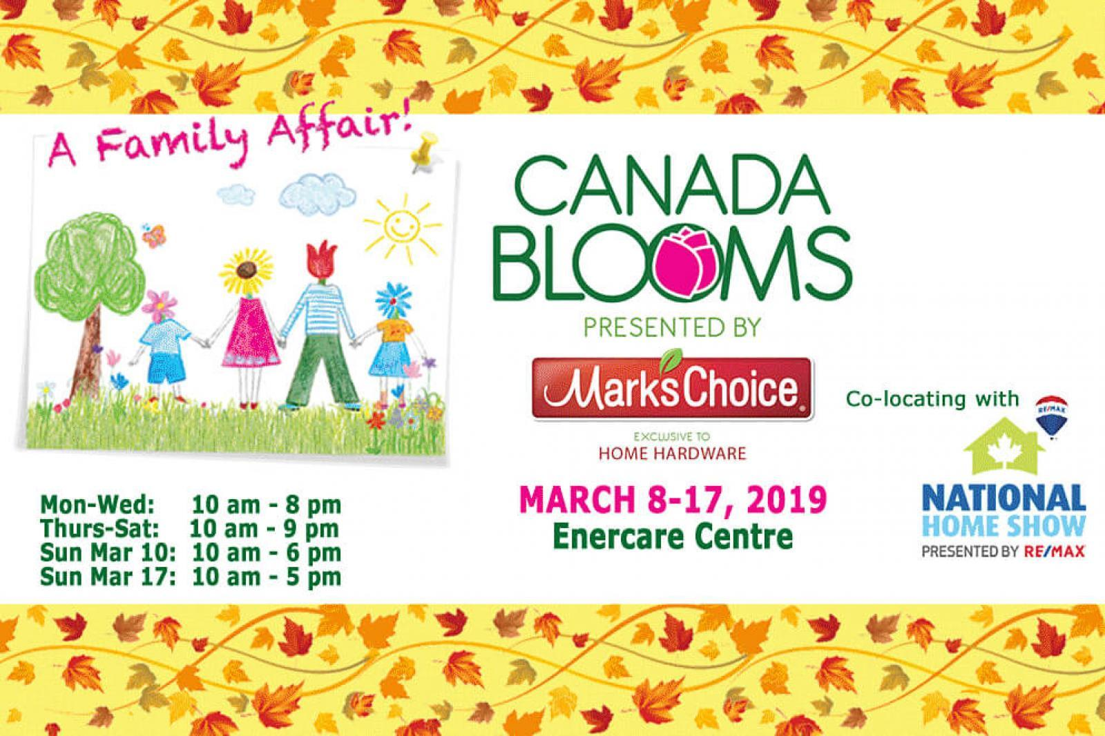 Canada Blooms 2019