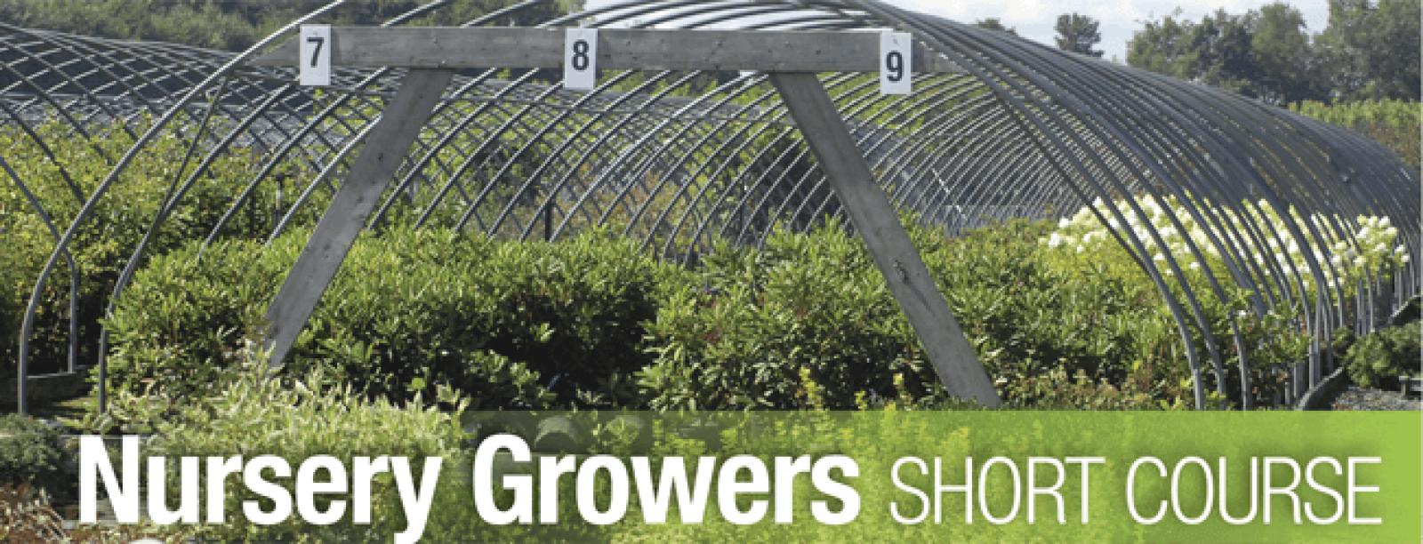 Nursery Growers Short Course