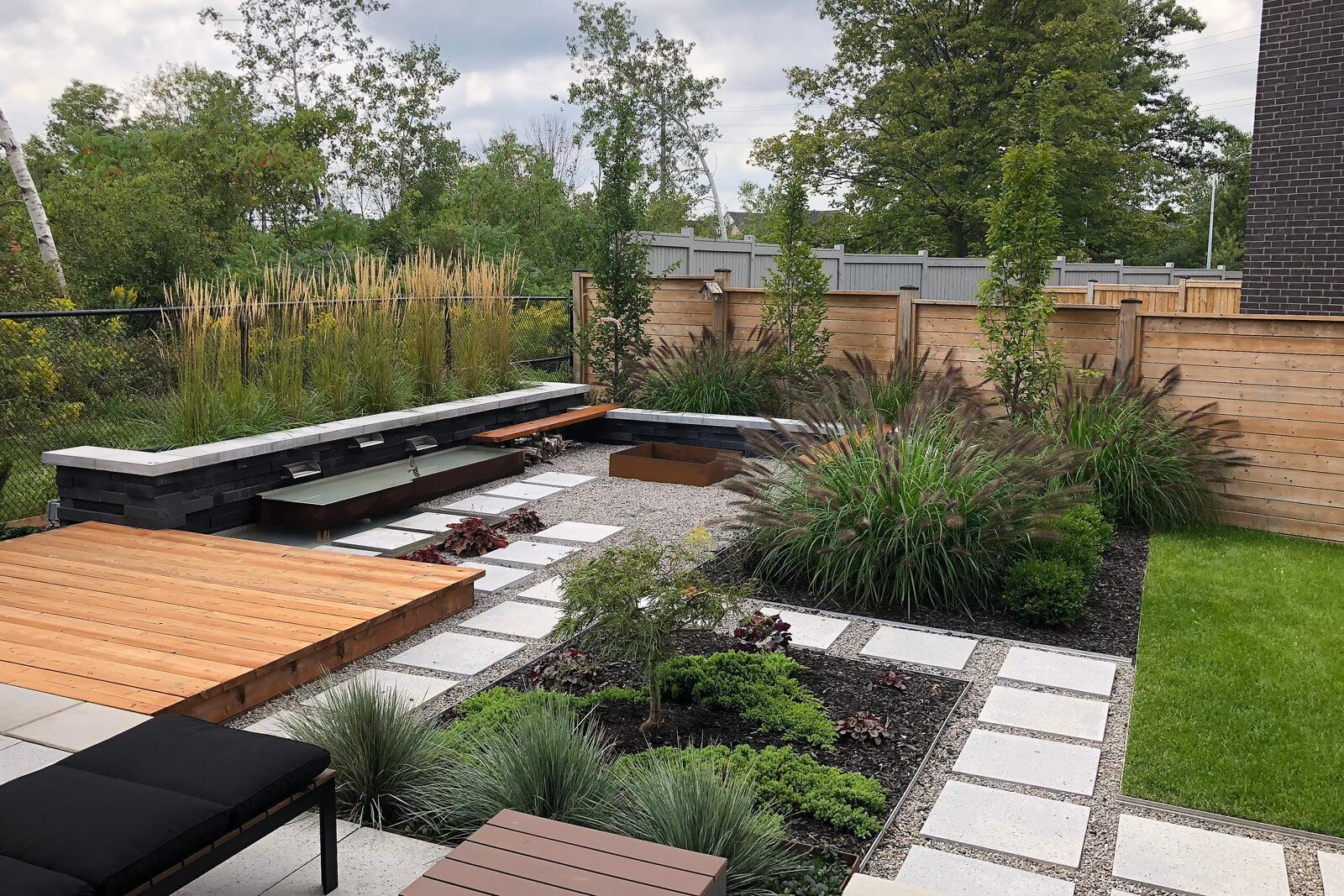 Fusion Landscaping garden at Canada Blooms 2019