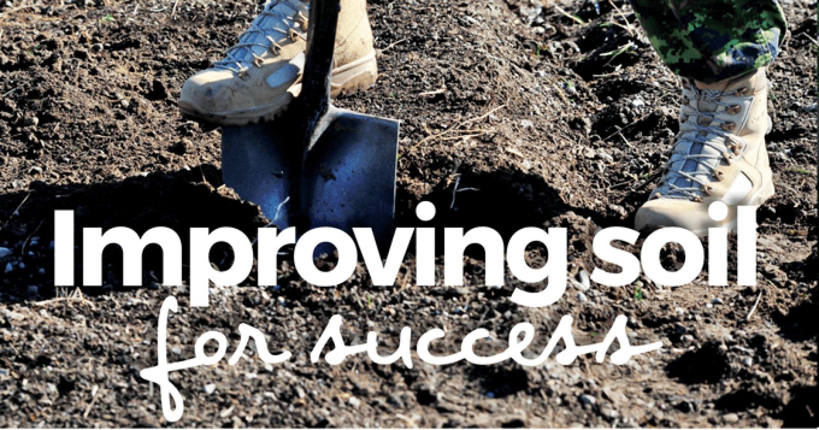 Improving soils for success