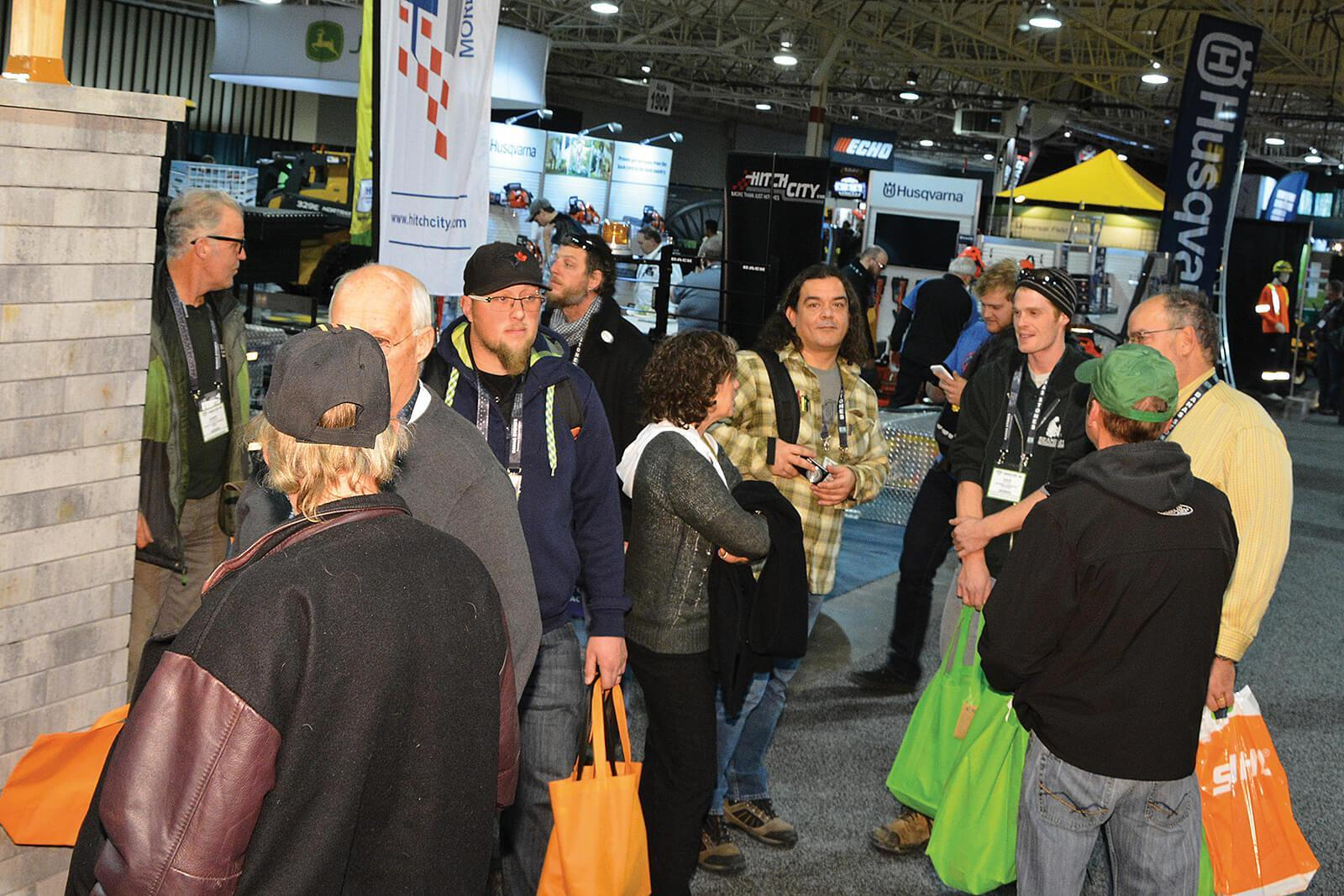 Congress '17 continues to attract landscape professionals from across North America.