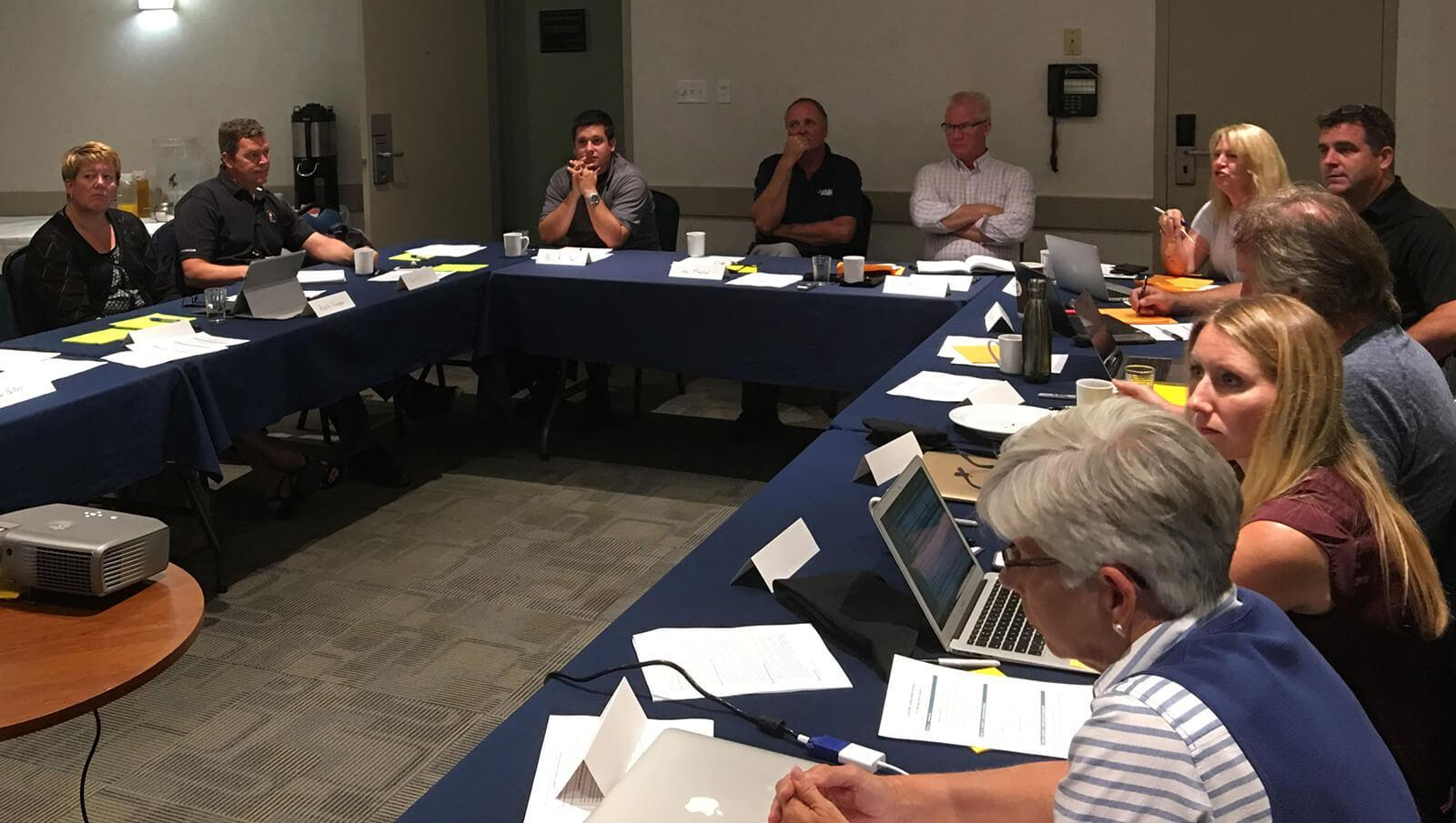 Industry leaders convene to determine research funding strategies