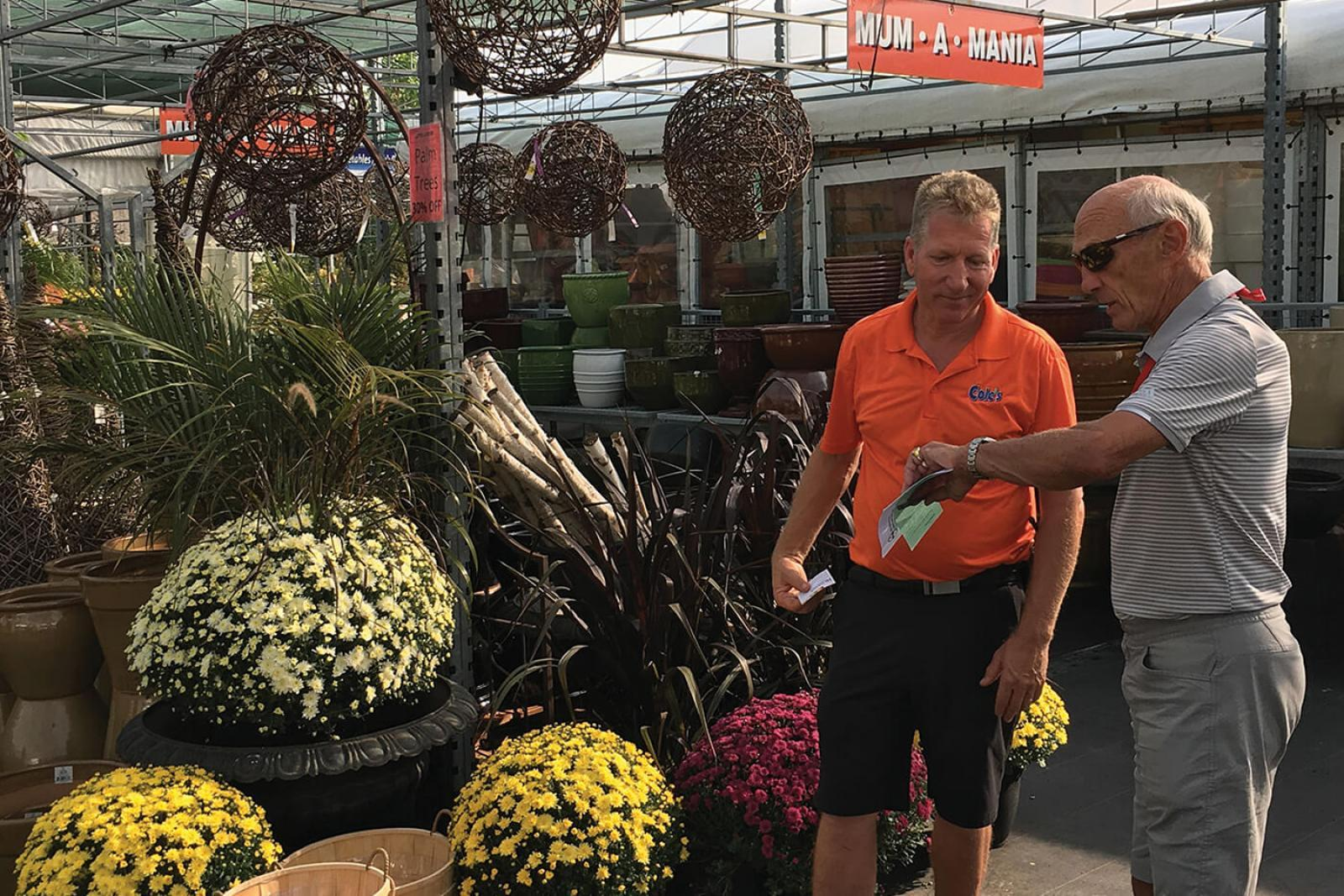 Garden centre tours are part of the two-day event.