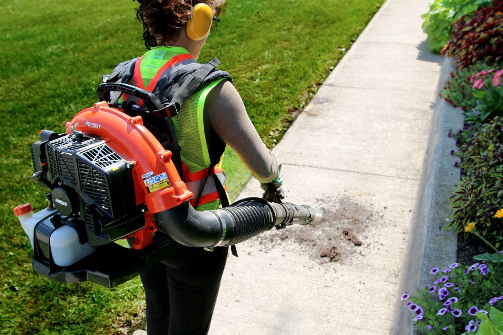 Free leaf blower training video