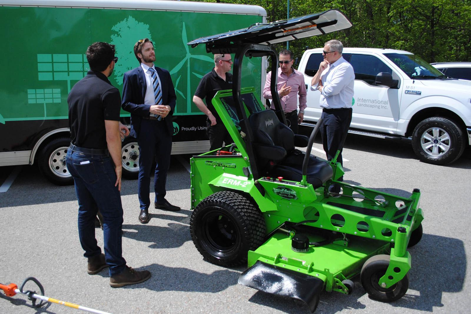 International Landscaping adds HP campus to electric maintenance portfolio