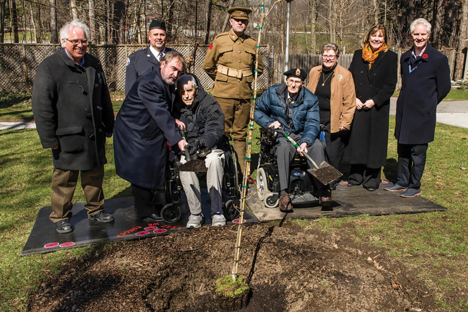 Vimy Oak planting commemorates historic anniversary