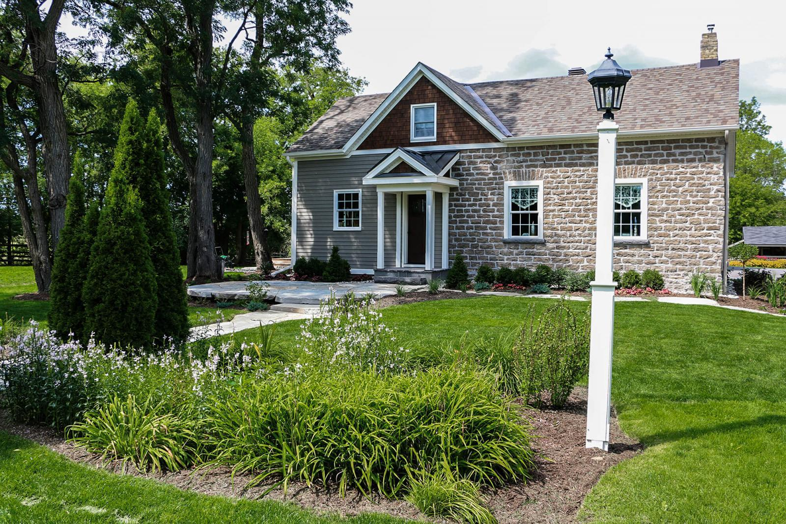 Some residential properties in and around Perth are cottages or vacation homes of people from Ottawa; a niche specialty for Terrascapes.