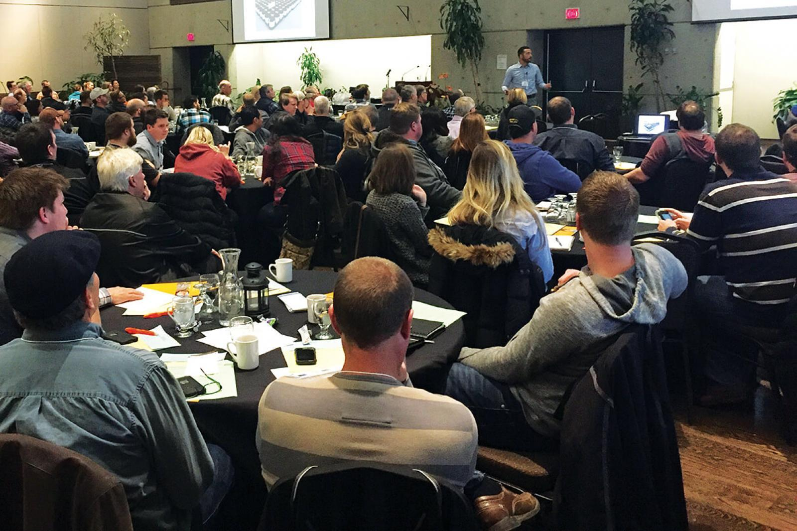 The Growers Short Course shares the latest research, techniques and technology.