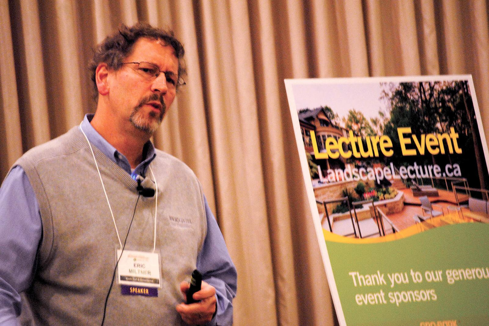 Grounds management added to popular lecture series