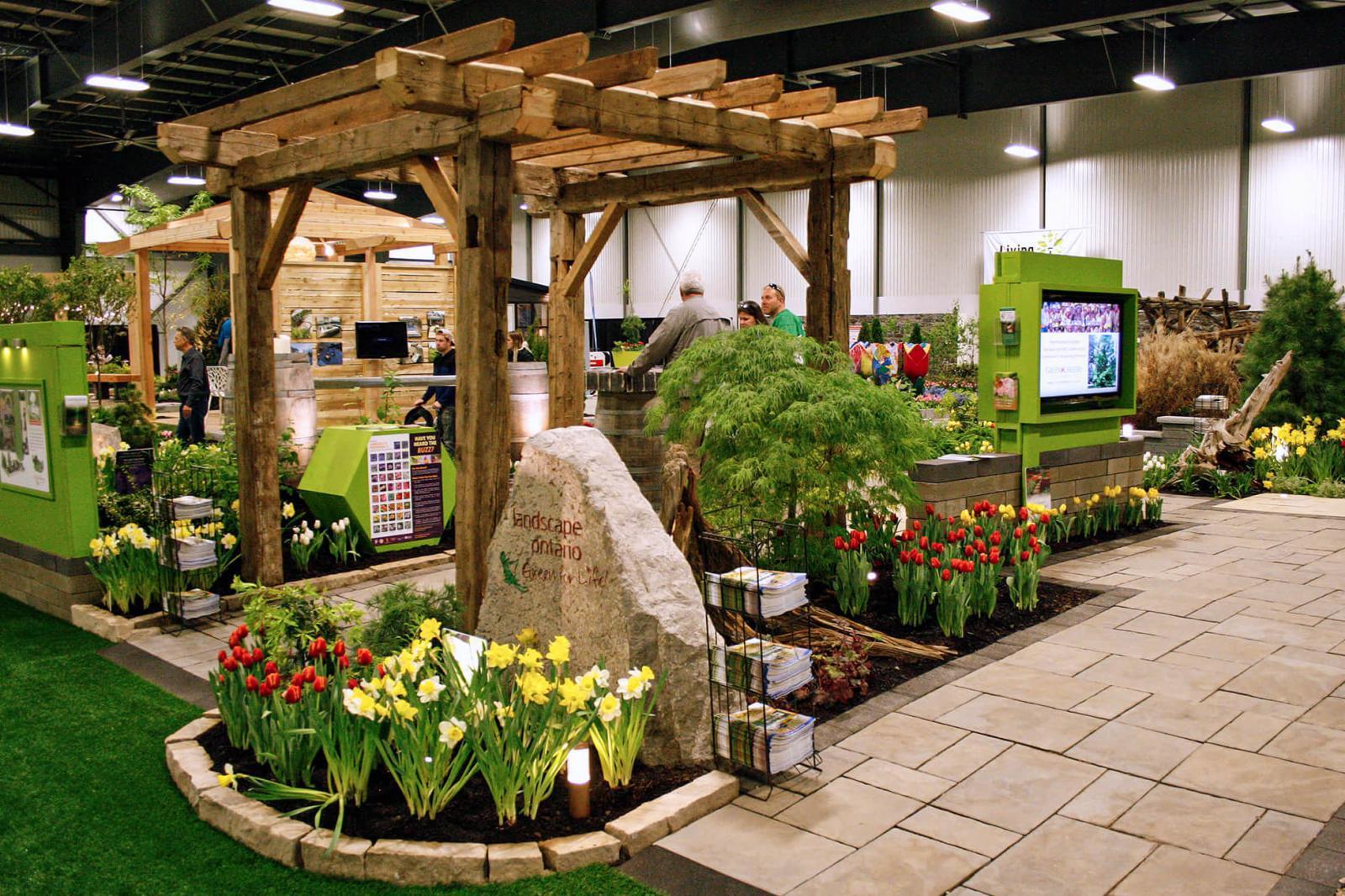 Landscape Ontario feature garden.