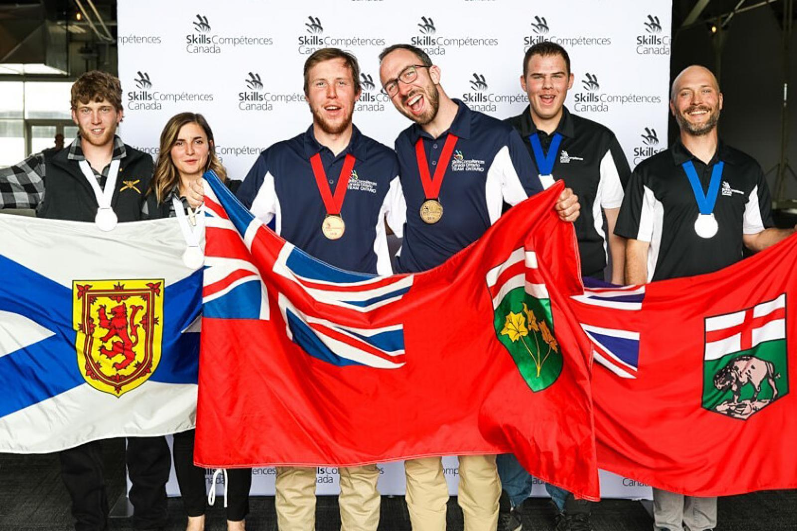Ontario students win national gold