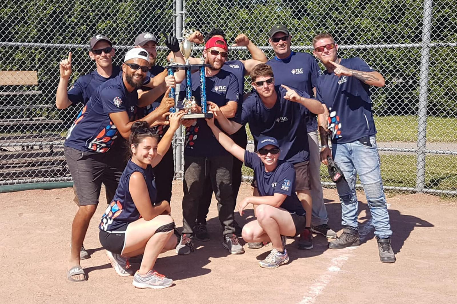 TLC Landscaping wins first ever London Chapter baseball tournament