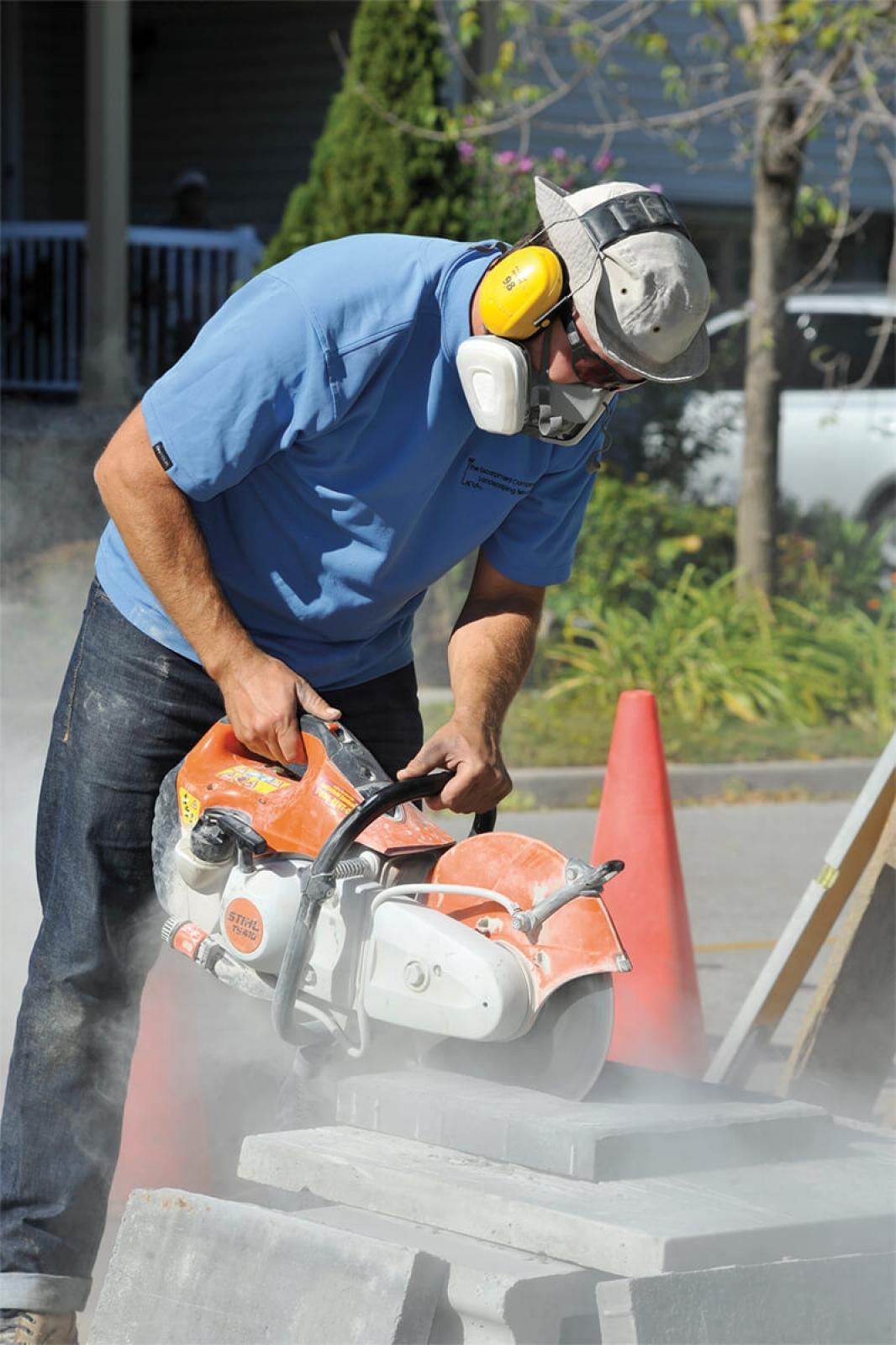 Respiratory hazards are the focus of a health and safety blitz this fall.