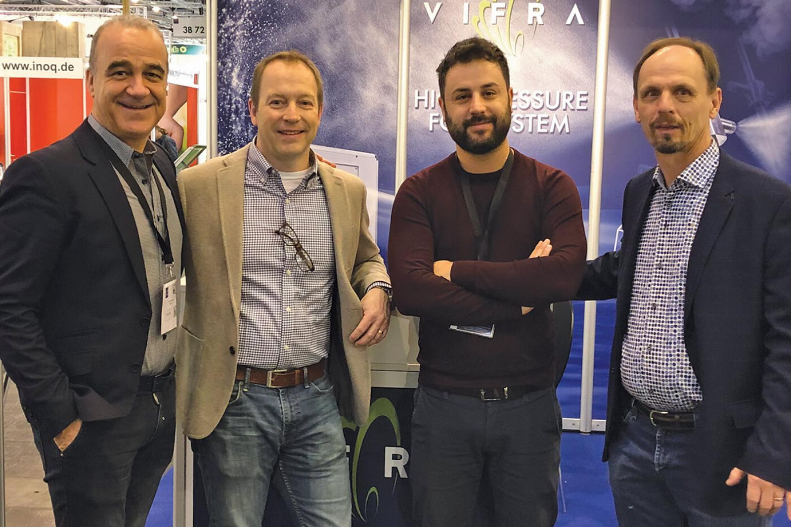 Dramm partners with Vifra