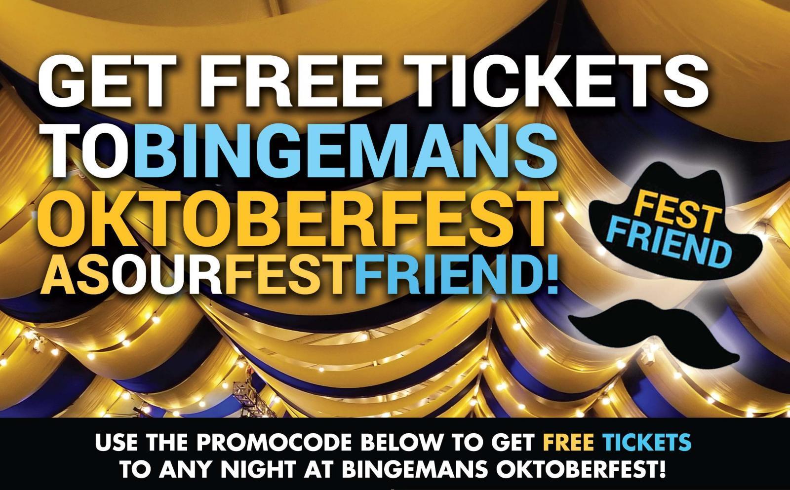 Get Free Tickets to Oktoberfest