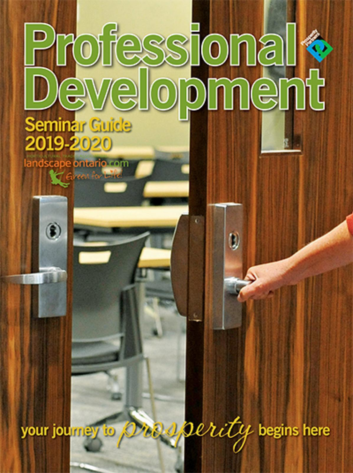 Professional Development courses final cover