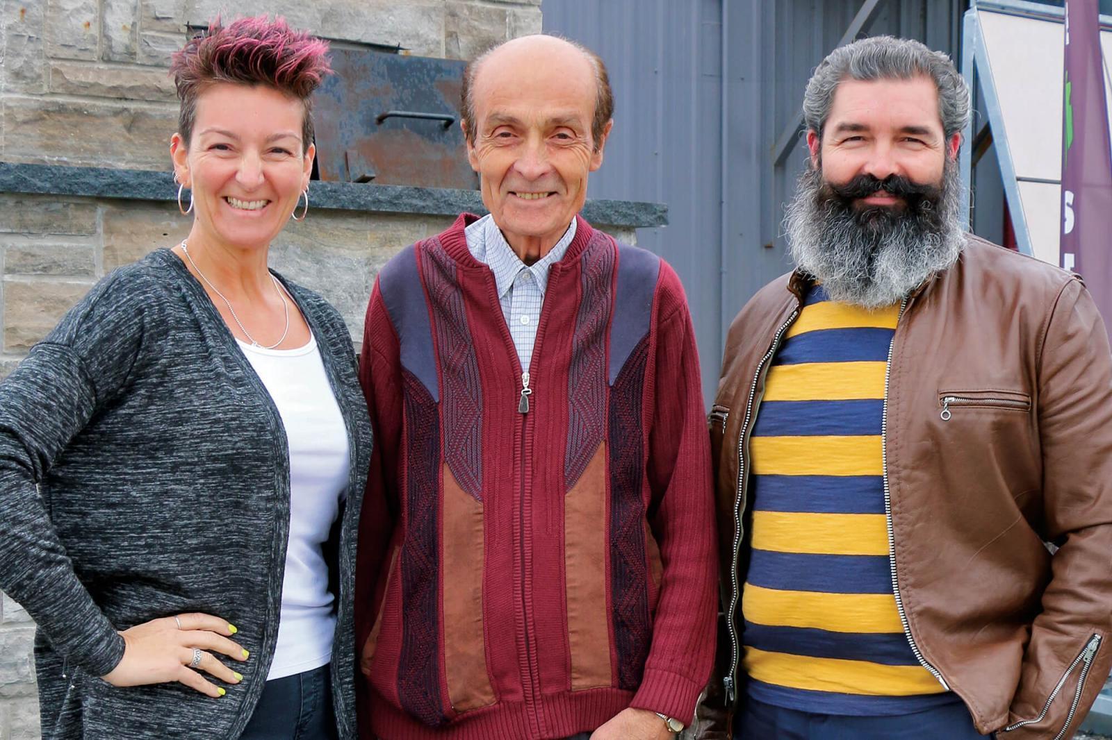 Tania, Tony and Mark Pacitto.
