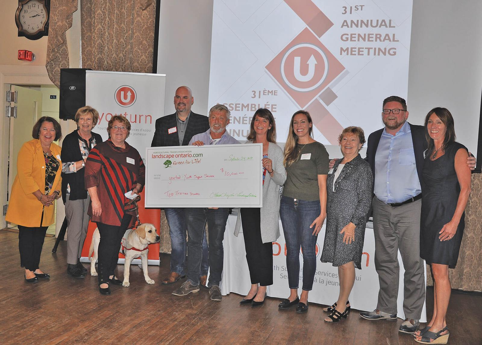 Ottawa Chapter raises $10,000 to support youth