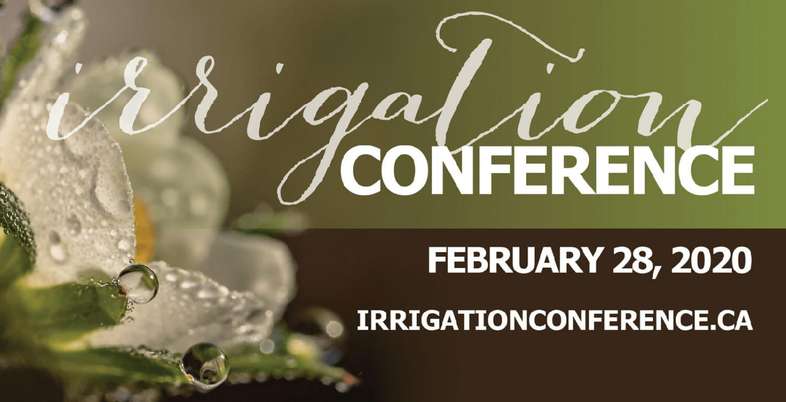 Irrigation Conference 2020