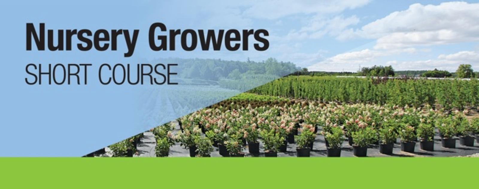 Nursery Growers Short Course