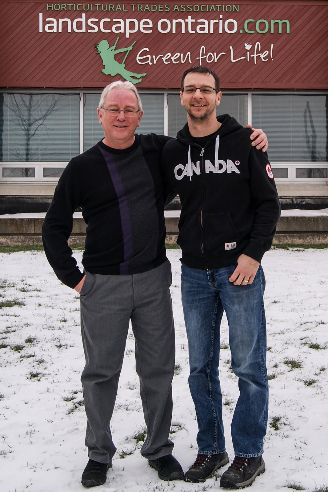 Allan Dennis and Robert Ellidge.