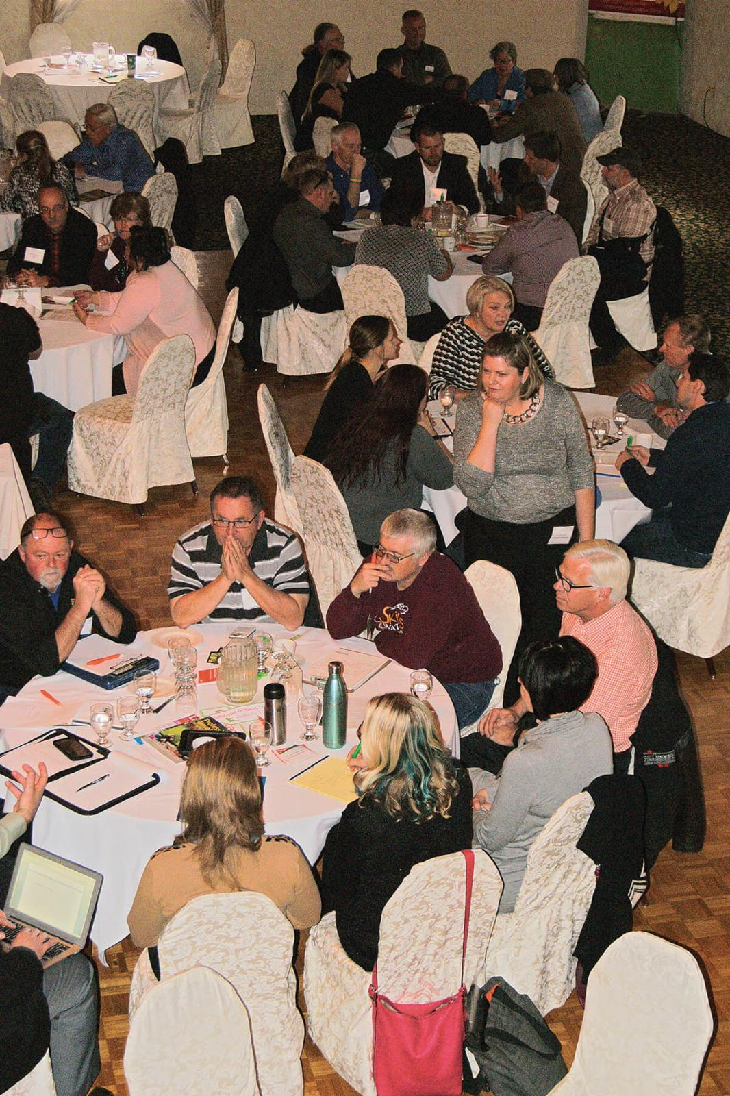 The roundtable discussions at this year's Governance meeting resulted in personal growth for many in attendance.