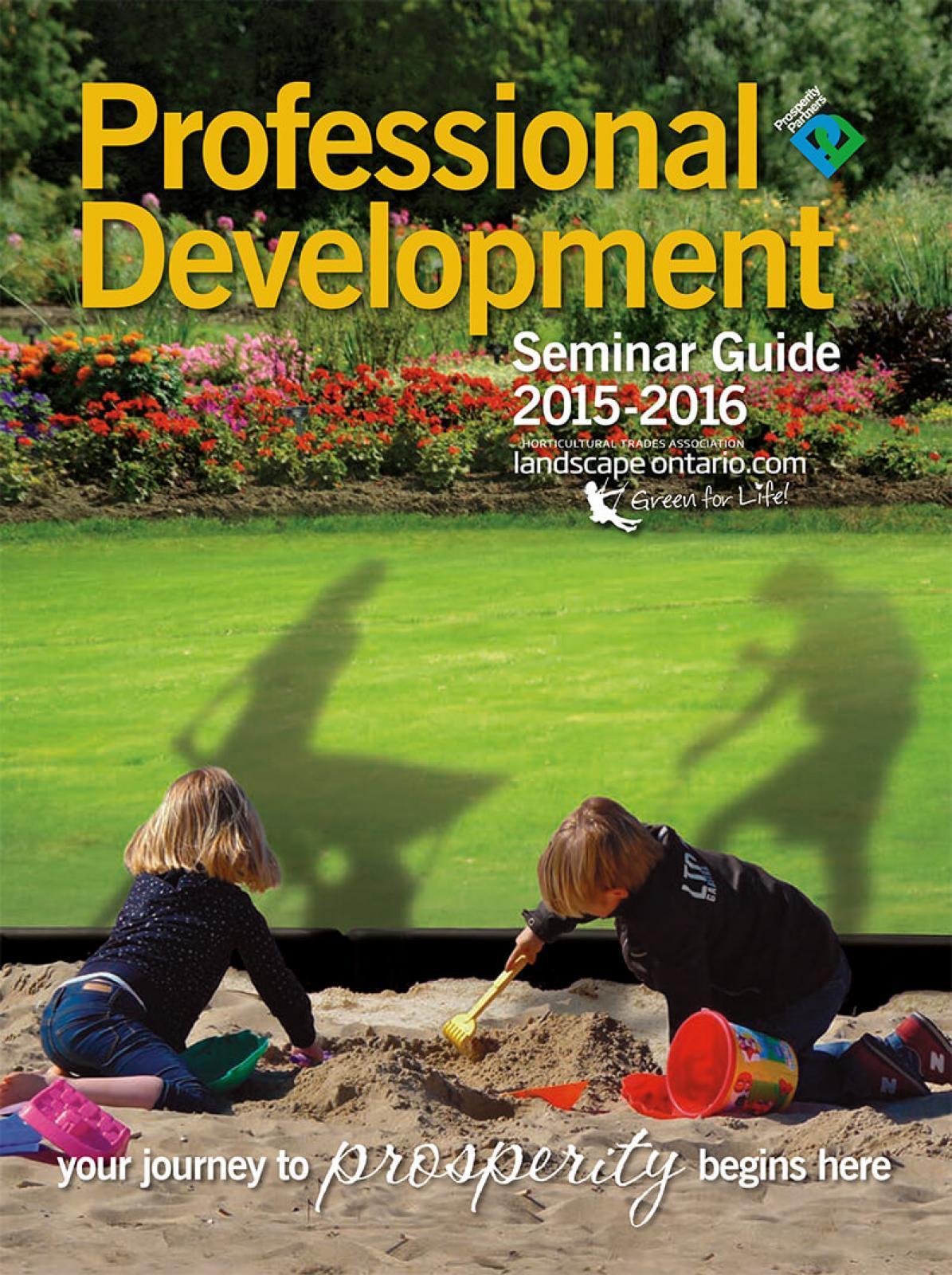 2015-2016 Professional Development Guide