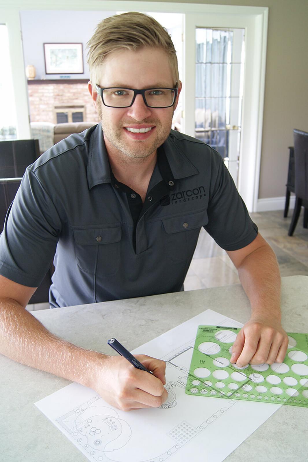 Adam Zaremba sees the value of being a member of Landscape Ontario.