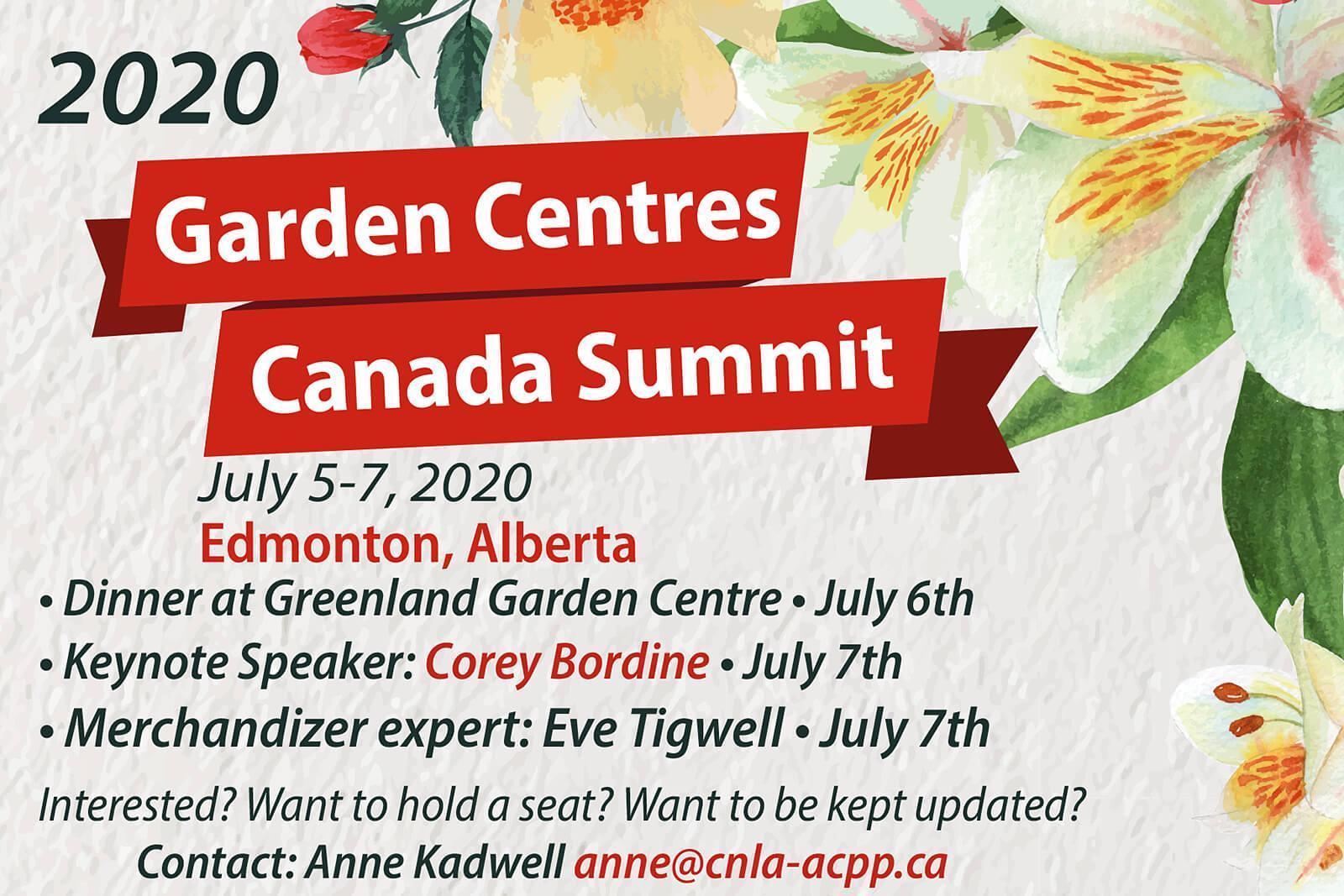 2020 Garden Centres Canada Summit