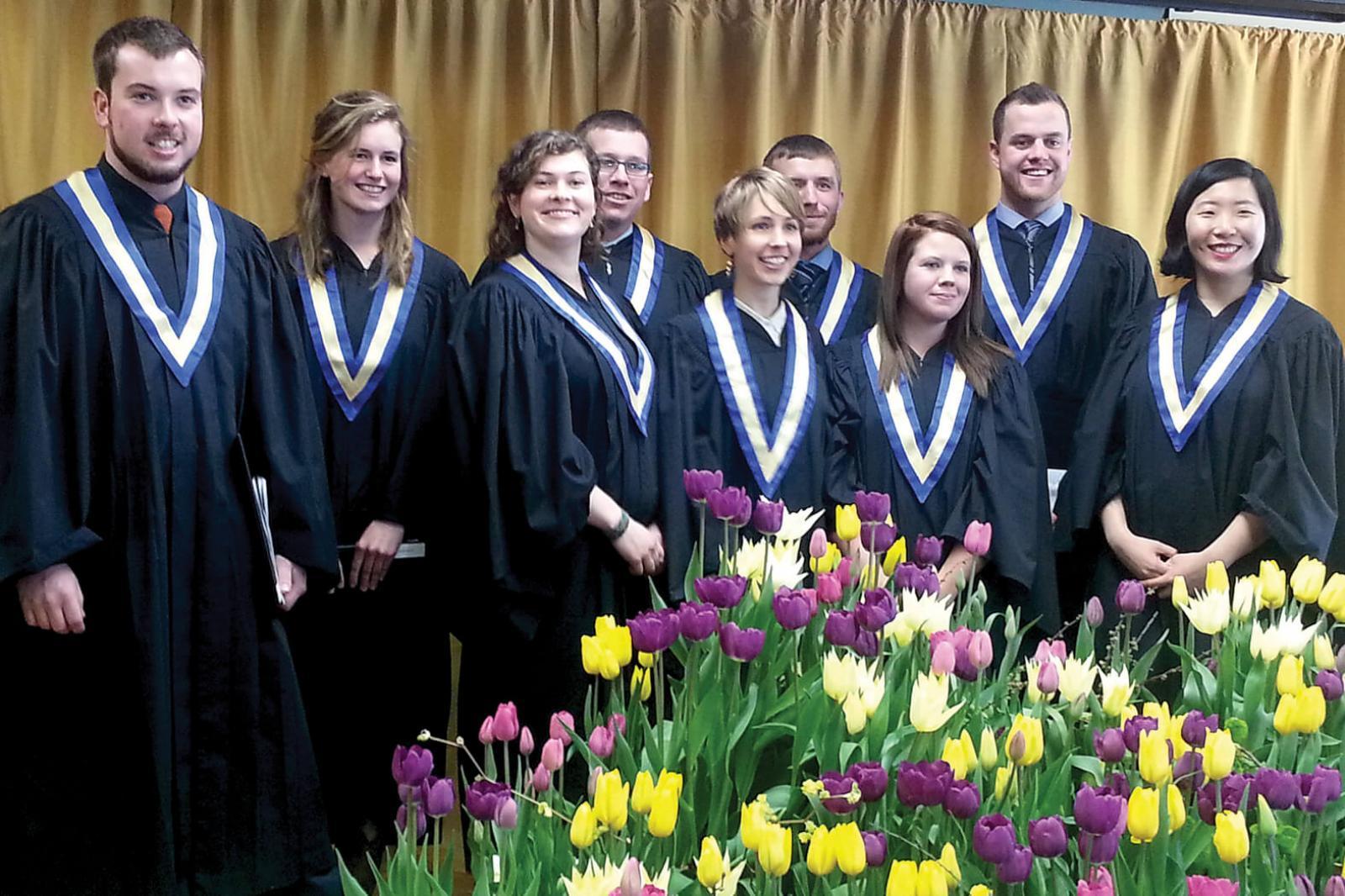 New Niagara Parks graduating class