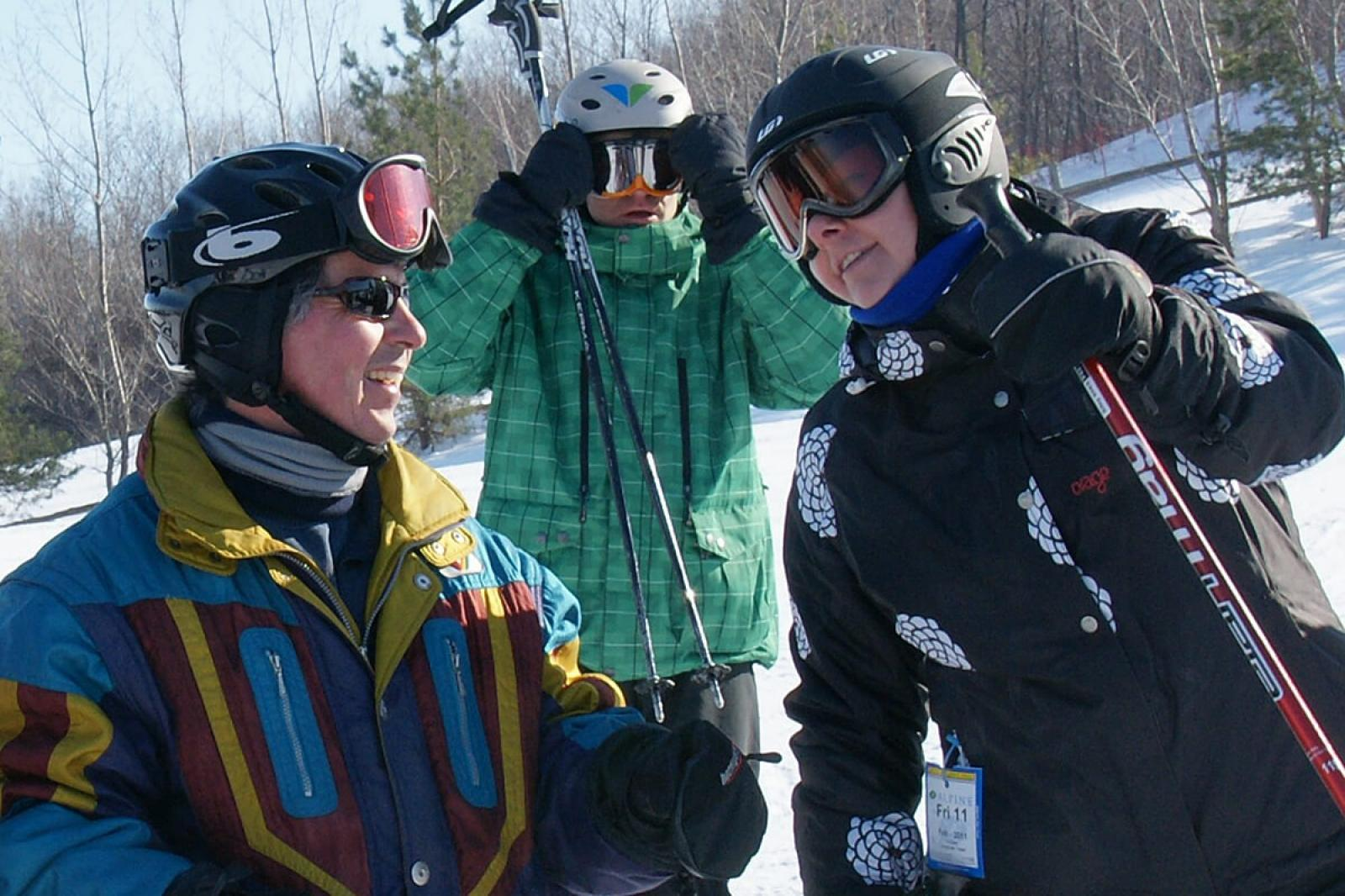 Chapter offers open invitation to Ski and Spa Day