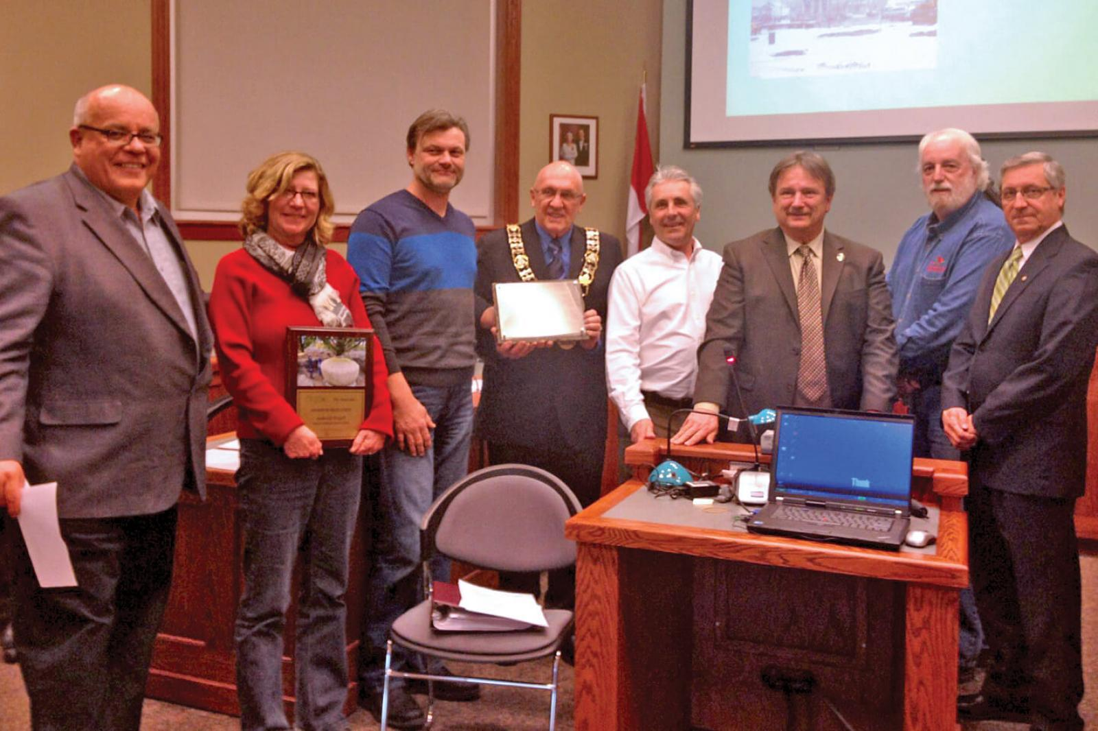 City of Goderich presented with leadership award