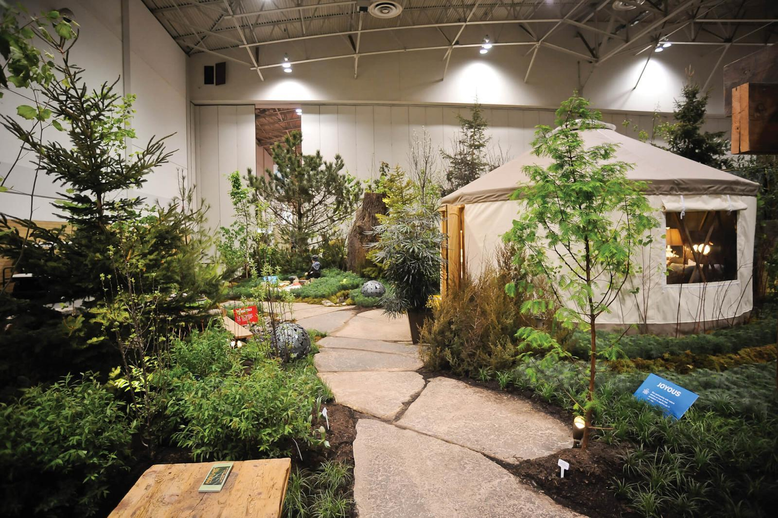 Canada Blooms 2014 feature garden winners