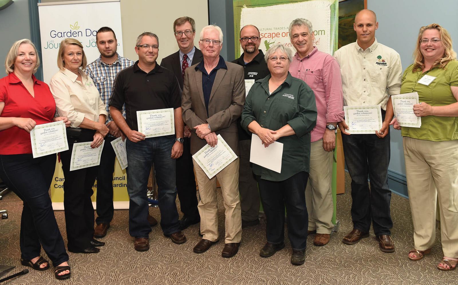 City honours Ottawa Chapter on Garden Days