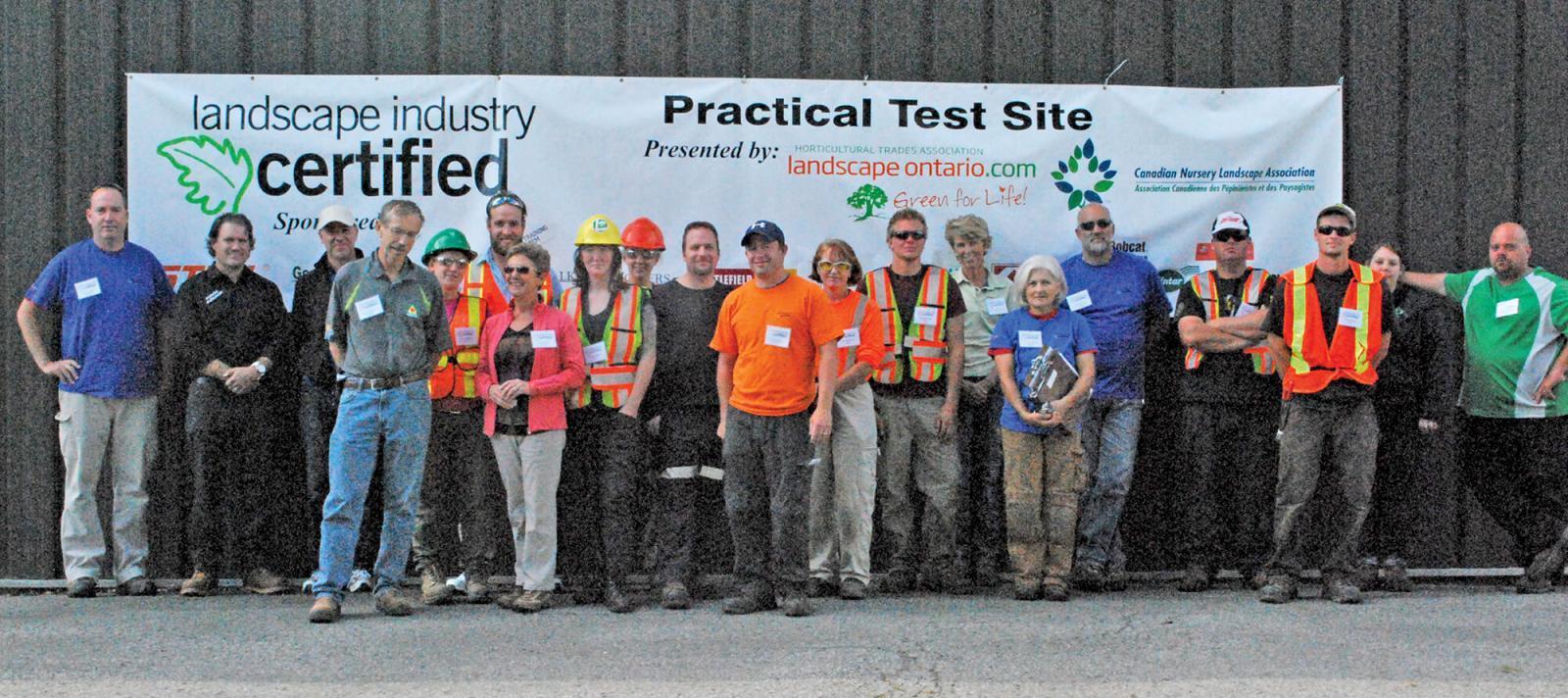 New certification testing in Kemptville