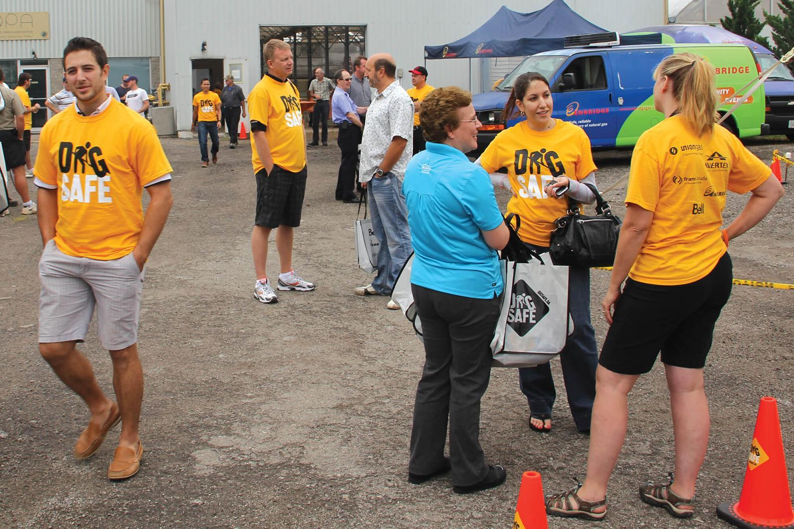 The first-ever Ontario Regional Common Ground Alliance's Dig Safe Fall Expo was held at LO home office in Milton last year. It returns this year on Sept. 18.