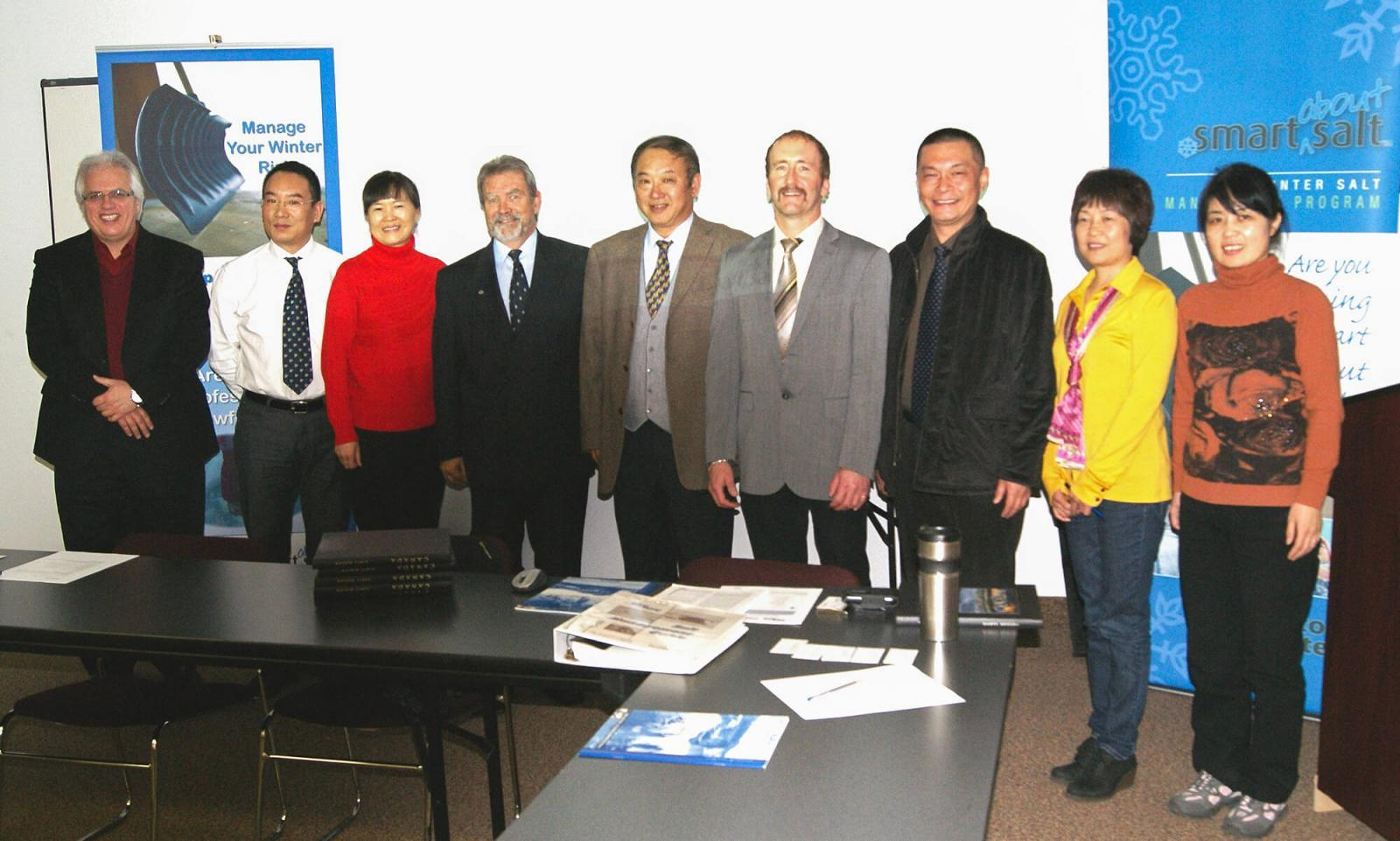 Chinese delegation at LO