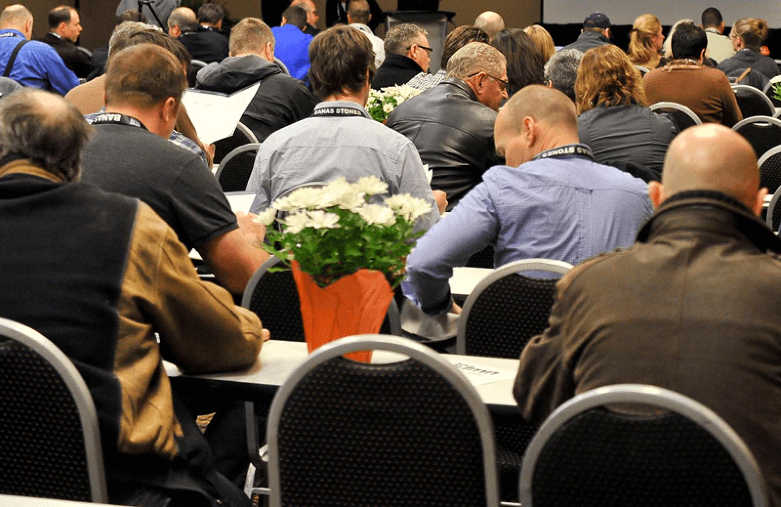 Conferences are illuminating