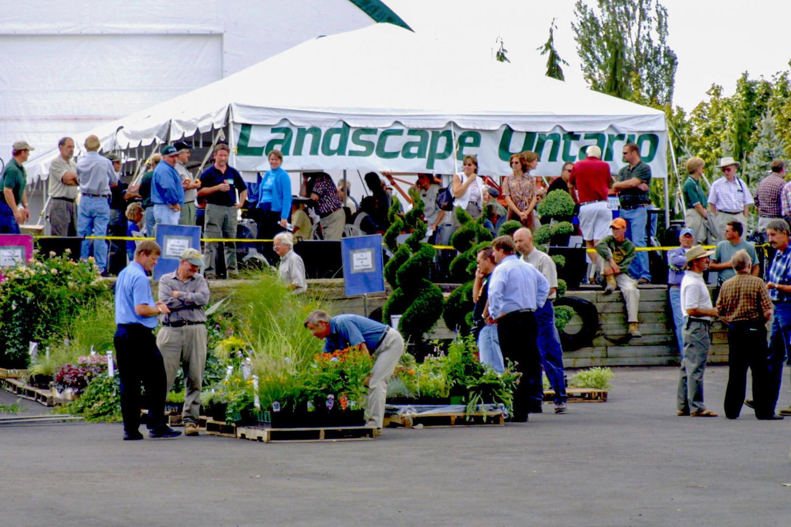 The LO Growers Group celebrated its 25th anniversary by staging an extra-special Research Auction with a pioneers' reunion. The event was held at Timm Enterprises in Oakville. Among some of the industry pioneers attending were Howard Stensson, Burke McNeill, Monica van Maris and Horst Dickert.